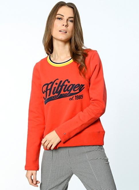 Tommy Hilfiger Sweatshirt Kırmızı